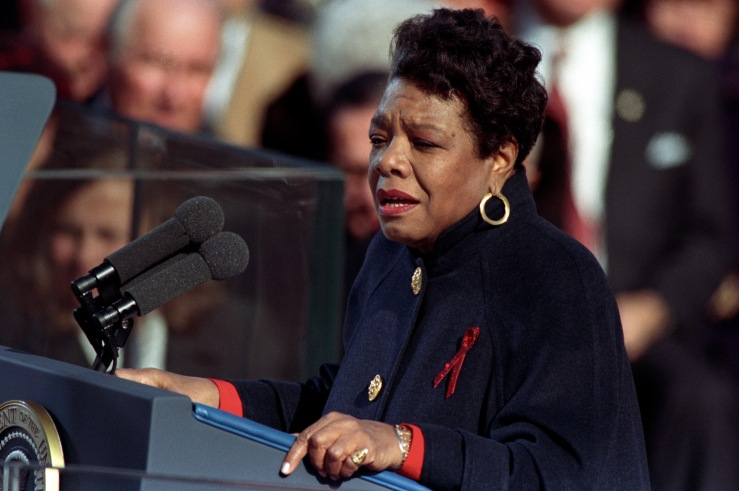 Maya Angelou reciting her poem