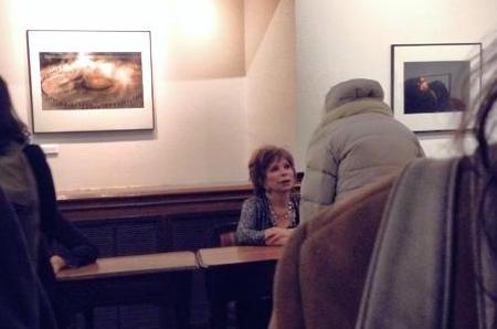 Isabel Allende at 92Y New York City, latina american novelist.